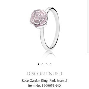 Pandora Jewelry - Pandora Rose Garden Ring RETIRED